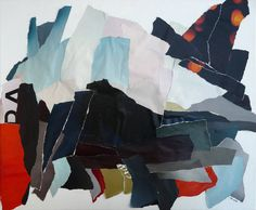 """""""Paysage 6,"""" abstract painting by Christian Gastaldi 