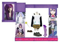 """Me as Mizore"" by the-lost-dreamer ❤ liked on Polyvore featuring art"