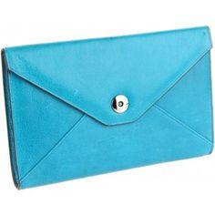 Lodis Blue Tab Chic E-Reader Clutch Envelope www.BagLane.com