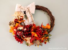 11 Festive Wreaths to Make for Fall