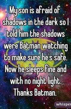Thanks Batman!