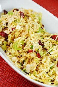 Oriental Cabbage and Cranberry Salad - 2 Smartpoints | Weight Watchers Recipes …