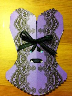 Corset Bridal Shower Invitation with Lace by IcingOnTheParty, $22.00