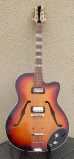 Klira Lady Thinline | 1960er Jahre | Made in Germany in Stuttgart - Vaihingen | Musikinstrumente und Zubehör gebraucht kaufen | eBay Kleinanzeigen