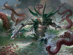 Harbinger of the Tides art by Svetlin Velinov
