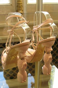 CHARLOTTE OLYMPIA SS13. Poodle heels ! These are so darling !