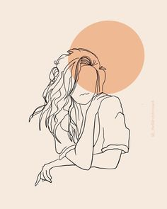illustration line art & illustration line art ; illustration line art graphics ; illustration line art simple Minimalist Drawing, Minimalist Art, Minimalist Fashion, Art Sketches, Art Drawings, Poster Drawing, Abstract Line Art, Aesthetic Art, Korean Aesthetic