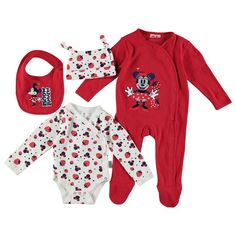 Disney Baby Minnie Mouse 4 Piece Set