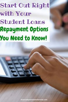 Don't get stuck with a student loan repayment plan that doesn't work for your personal situation. Private Loans, Private Student Loan, Paying Off Student Loans, Student Loan Debt, Scholarships For College, College Loans, College Life, 10 Year Plan, Student Loan Repayment