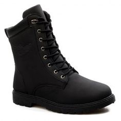 SHARE & Get it FREE | Stylish Men's Combat Boots With Color Block and…