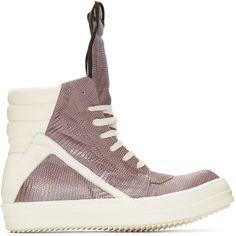 Lizard Skin GEOBASKET Sneakers Spring/summer Rick Owens ao7kY