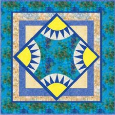 Free Sunny Skies Quilt Pattern