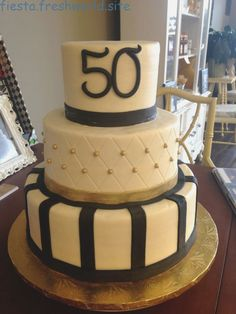 Pretty Photo of Birthday Cakes For Men . Birthday Cakes For Men Gold And Black Birthday Cake Mens Birthday Cake 30 Birthday Cheap Birthday Cakes, 50th Birthday Cakes For Men, 50th Birthday Decorations, Birthday Cake With Photo, Adult Birthday Cakes, 60th Birthday Party, Birthday Cake Decorating, Birthday Ideas, 50th Cake