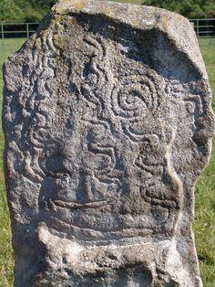 Rock art at Bryn Celli Ddu, Wales