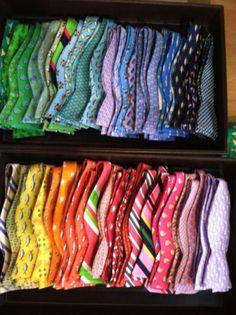 Bow ties or no ties