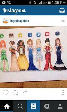 7 apps 7 dresses