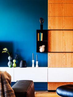 Wohnen Mit Farben   Wandfarbe Rot, Blau, Grün Und Grau | Pinterest | Gut  Beraten, Schwerpunkte Und Wandfarbe