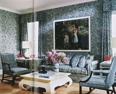 Aerin Lauder East Hampton home