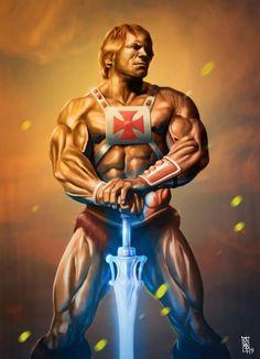 Marvel Vs, Marvel Heroes, He Man Tattoo, Comic Movies, Comic Books, Geeks, Minions, He Man Thundercats, 1980 Cartoons