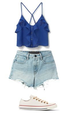 """""""Untitled #624"""" by lorenaisrandom on Polyvore featuring MANGO, Converse and T By Alexander Wang"""