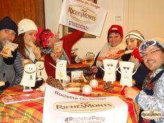 On fond tous pour une #RacletteParty @richesmonts !