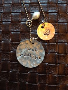 Stamped jewelry. Buen camino. Camino de by SimplyYoursByDesign, $20.00