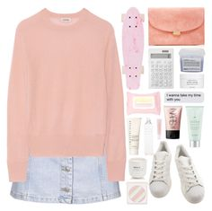 """""""WHAT'S YOUR FAVE COLOUR?"""" by paradiselemonade ❤ liked on Polyvore featuring Mansur Gavriel, Topshop, Totême, adidas, Forever 21, Muji, Davines, Byredo, Drybar and NARS Cosmetics"""