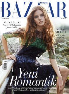 Harper's Bazaar January 2015   Marina Krtinic And Tuanne Froemming By Cihan Oncu #Covers2015