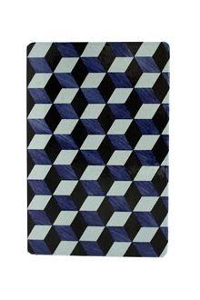Lavasten Trappe, blå