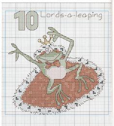 ~ 10 Lords-a-Leaping ~ Gallery.ru / Фото #17 - 2 - Viki-Kitti....