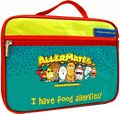 AlerMates I Have Food Allergies Lunch Bagwith customizable allergy info card