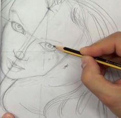 Cómo dibujar un rostro paso a paso (Perfilar - Paso 2). Un retrato consiste en dibujar el rostro de una persona. El objetivo principal es que el resultado sea exactamente igual de cómo es en la realidad o en una fotografía. Antiguamente, se retrataba a rey...