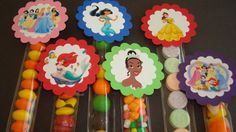 Princess Candy favors