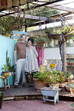 Trish Bygott, Nathan Crotty and their family home in Fremantle, Western Australia. I love the Aussies! <3