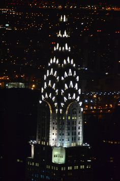 Chrysler Building from Empire State Building