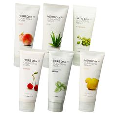 The Beauty Sweet Spot: REVIEW: The FaceShop Herb Day 365 Cleansing Foam (...