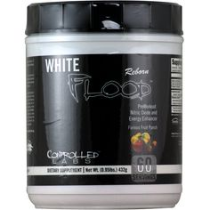 Controlled Labs White Flood Reborn Fruit Punch 60 svg | Regular Price: $85.99, Sale Price: $52.99 | OvernightSupplements.com | #onSale #supplements #specials #ControlledLabs #NitricOxide  | PreWorkout Nitric Oxide and Energy Enhancer These statements have not been evaluated by the FDA This product is not intended to diagnose treat cure or prevent any disease
