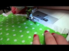 (12) How to make a drawstring backpack by Grace Leslie & Cayla Schuppy - YouTube