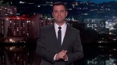 Jimmy Kimmel gets emotional during his farewell tribute to David Letterman