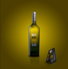 And deep blue // wine by Filippo Cattaneo, via Behance