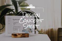 簡単にデザインの方向性を確認しよう!デザインコンセプトシート活用術 | デザインメモ 2.0 Busy At Work, Letter Board, Place Cards, Place Card Holders, Concept, Lettering, How To Plan, Creative, Design