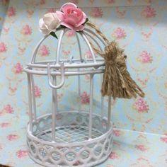 Jaulas Jaulitas Souvenir Centro De Mesa 15 Casamiento Baby - $ 44,99 en Mercado Libre Newspaper Crafts, Ideas Para Fiestas, Bird Cage, Basket Weaving, Wedding Gifts, Favors, Decorative Boxes, Arts And Crafts, Baby Shower