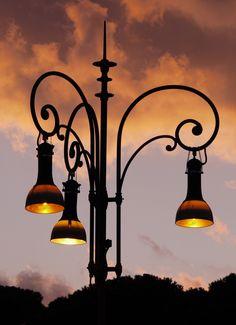 Lamppost lamp post