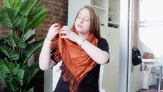 Learn four different ways to tie a scarf on SHEfinds.com.