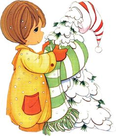 precious moments | Precious Moments Ilustraciones Tarjeta Navidad Tamaño Grande