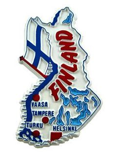 MGI Companies, Inc. - Finland - International Country Shaped Map Magnets, $2.89 (http://www.internationalgiftitems.com/finland-magnetic-map)