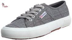 Superga 2750 Gallesu, Sneakers Basses mixte adulte, Multicolore (995 Grey/White), 45 EU, Multicolore (995 Grey/White), 35 - Chaussures superga (*Partner-Link)