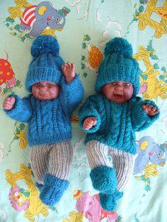 Pletení pro panenky - miminka / knitt for baby dolls / my work – Lucie Vis – Webová alba Picasa