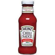 heinz chili sauce copycat recipe, use brown rice syrup and apple cider vinegar (for gluten free)
