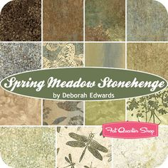 Spring Meadow Stonehenge Fat Quarter Bundle Northcott Fabrics - Fat Quarter Shop